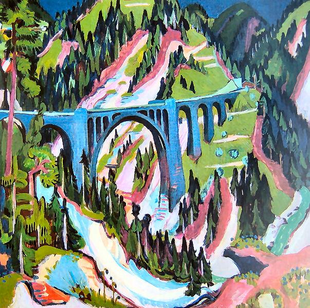 Brücke bei Wiesen