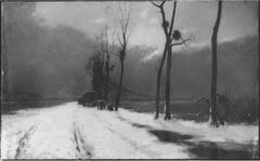 Les Cigales - roulottiers surpris par l'hiver