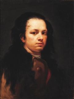 Self-portrait in the Studio