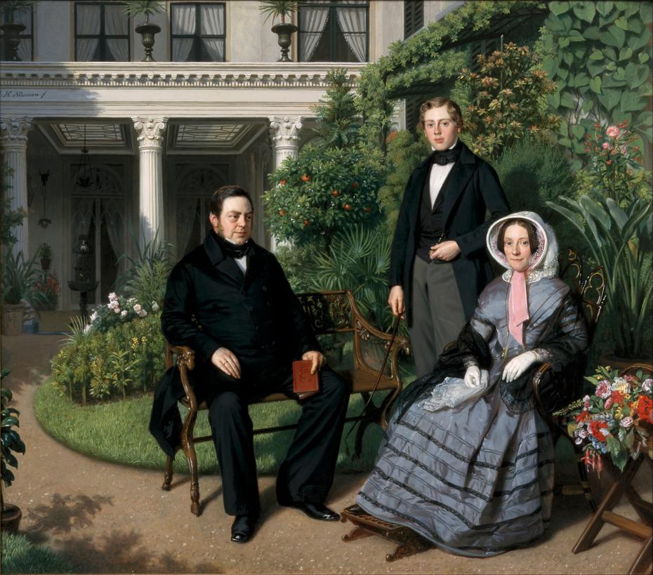 Portrait of the Metelerkamp Family