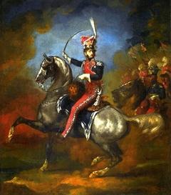 Equestrian portrait of Wincenty Krasiński