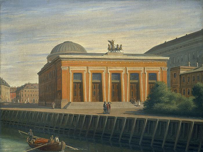 View of the Thorvaldsen Museum