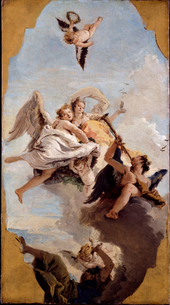 Virtue and Nobility putting Ignorance to Flight