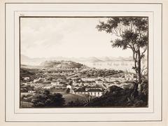 Vista da Cidade de St. Sebastião do Rio de Janeiro tirada do Convento de Sta. Thereza