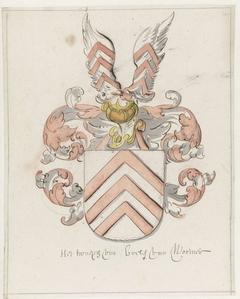 Wapenschild van de familie Boele van Wormer
