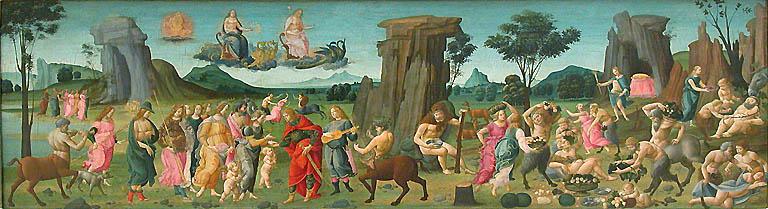 Wedding of Peleus and Thetis