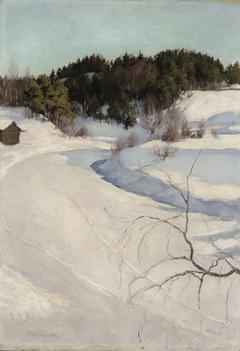 Winter Landscape, Myllykylä