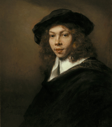 Youth with a Black Cap