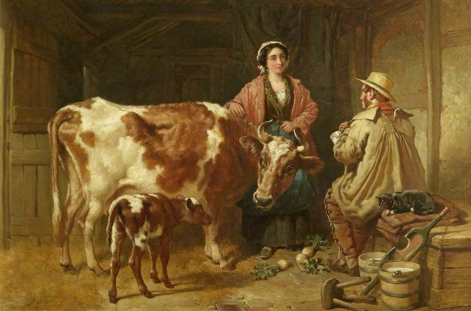 A Chat with the Milkmaid
