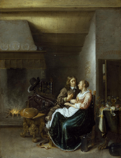 A Couple in an Interior