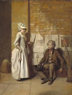 A Girl Buying a Ballad