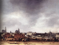 A View of Delft after the Explosion of 1654