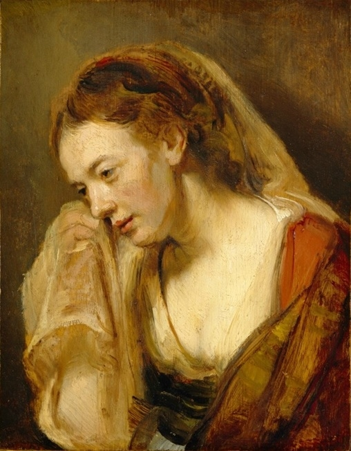 A Weeping Woman