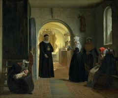 A Woman's Solemn Churching after Childbirth