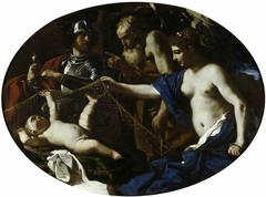 An Allegory with Venus, Mars, Cupid and Time