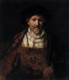 An Old Man in Fanciful Costume