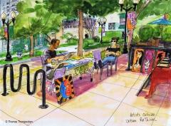Artists Sidewalk Sale