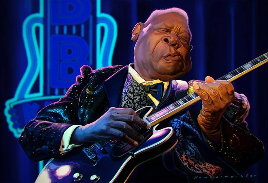 B.B. King, the King of the Blues