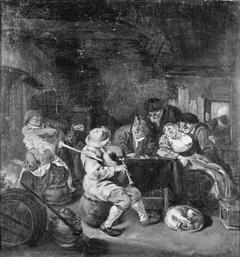 Bagpiper at an Inn