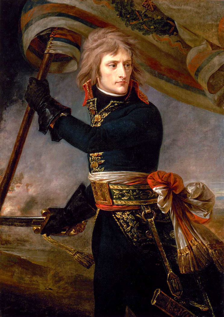 Bonaparte at the Bridge of Arcole 1796/11/17