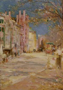 Boston Street Scene (Boston Common)