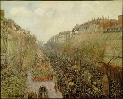 Boulevard Montmartre: Mardi Gras
