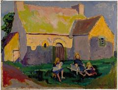 Breton church
