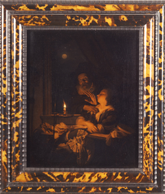 Candlelight (the allegory of sin)