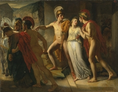 Castor and Pollux rescuing Helen