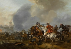 Cavalry Skirmish with Foot Soldiers