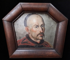 Coffin portrait of a nobleman with Cossack mustache.