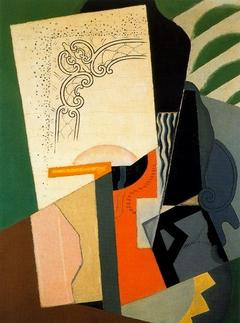 Composición cubista (Cubist Composition)