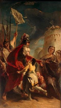 Coriolanus at the Walls of Rome