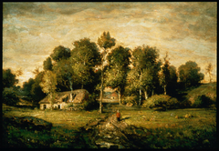 Cottage in a Clump of Trees