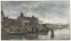 De Buitenkant met de Schreierstoren te Amsterdam