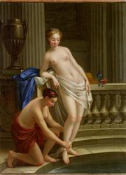 Deux Femmes au bain