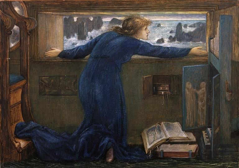 Dorigen of Bretagne longing for the safe return of her husband