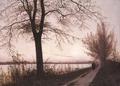 Efterårsmorgen ved Sortedamssøen