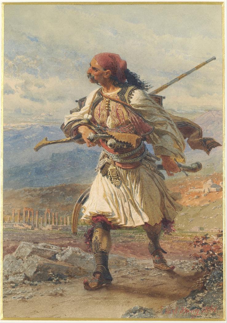 Greek Warrior / Έλληνας αρματολός