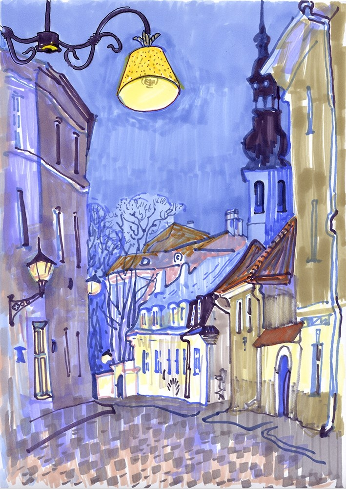 Evening in Tallinn