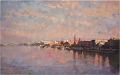 Evening on Danube Budapest
