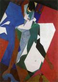 Femme au miroir (Femme à sa toilette, Lady at her Dressing Table)