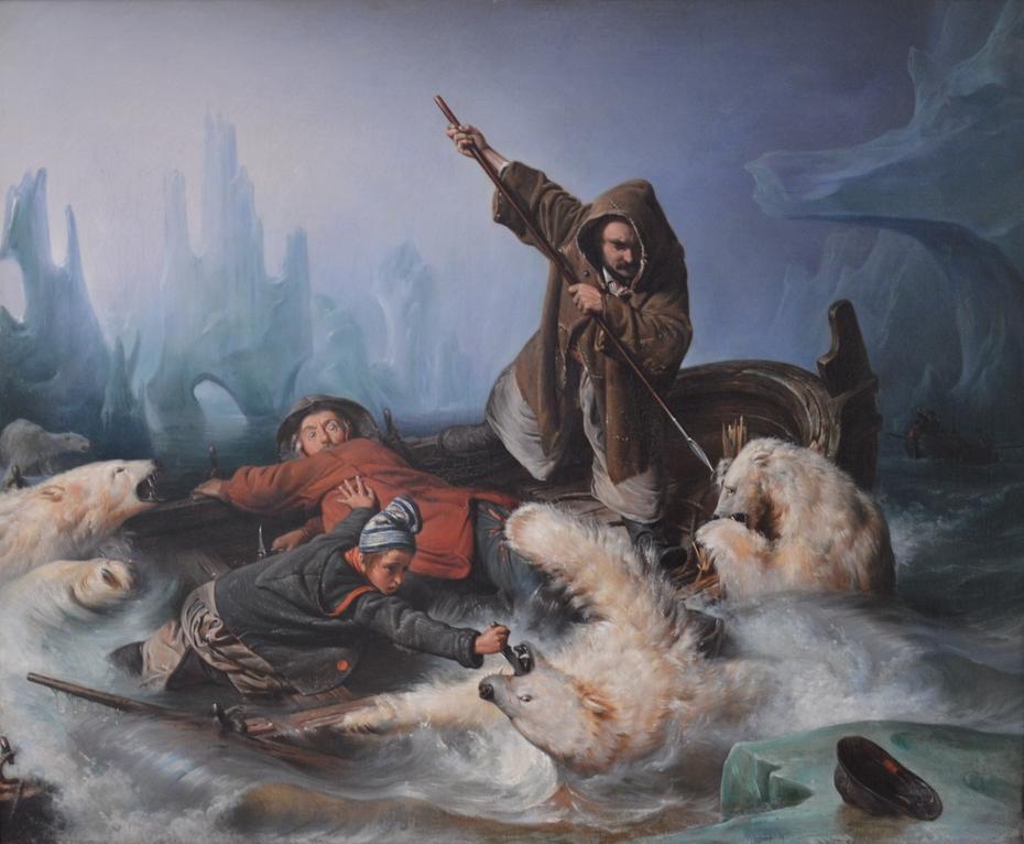 Fight with Polar Bears