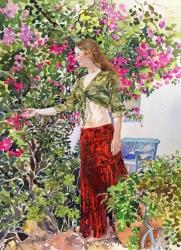 Francesca in Ute's Garden