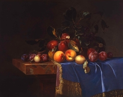 Fruit Still Life with a Snail