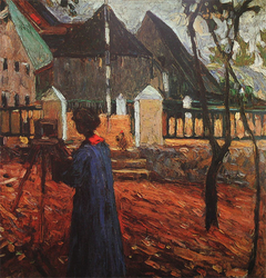 Gabriele Münter Painting