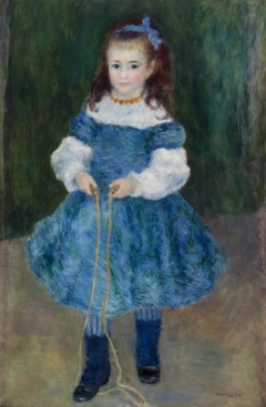 Girl with a Jump Rope (Portrait of Delphine Legrand)