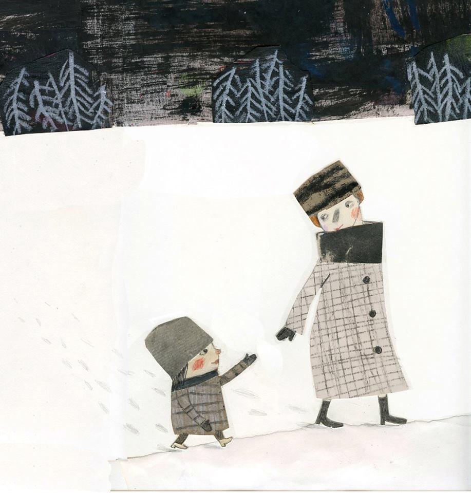 Grand-mère, elle et moi (illustration)