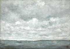 Gray Day, Fishers Island Sound