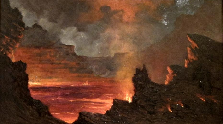 Halema'uma'u Crater, Kilauea Volcano